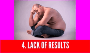 lack of weight loss results