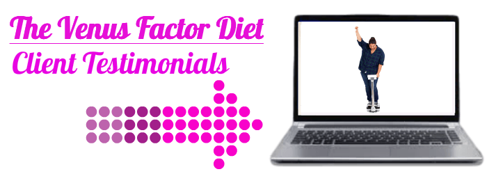 The Venus Factor Diet testimonials page