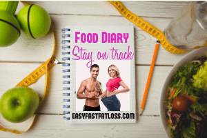 food diary cover